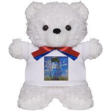 Monet - Woman with a Parasol Teddy Bear