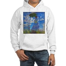 Monet - Woman with a Parasol Hoodie
