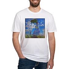 Monet - Woman with a Parasol Shirt