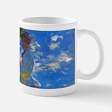 Monet - Woman with a Parasol Mug