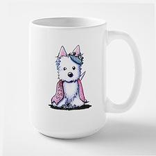 Westie Princess Sparkleheart Mug