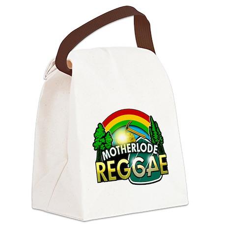 MotherLode Reggae logo Canvas Lunch Bag