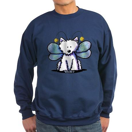 Dragonfly Westie Sweatshirt (dark)