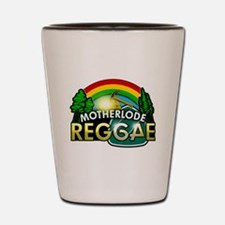 MotherLode Reggae logo Shot Glass