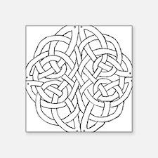 Circular celtic knot Sticker
