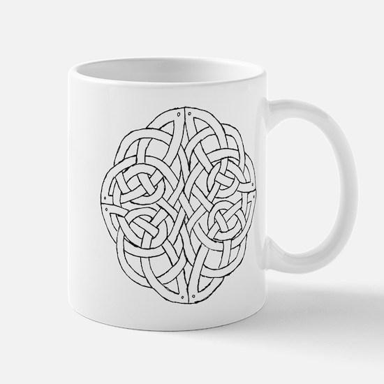 Circular celtic knot Mug