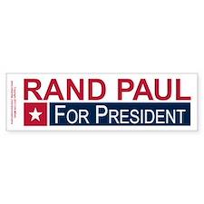 Elect Rand Paul President Bumper Sticker