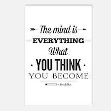 Buddha Saying - The Mind Is Everything ... Postcar