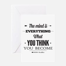 Buddha Saying - The Mind Is Everything ... Greetin
