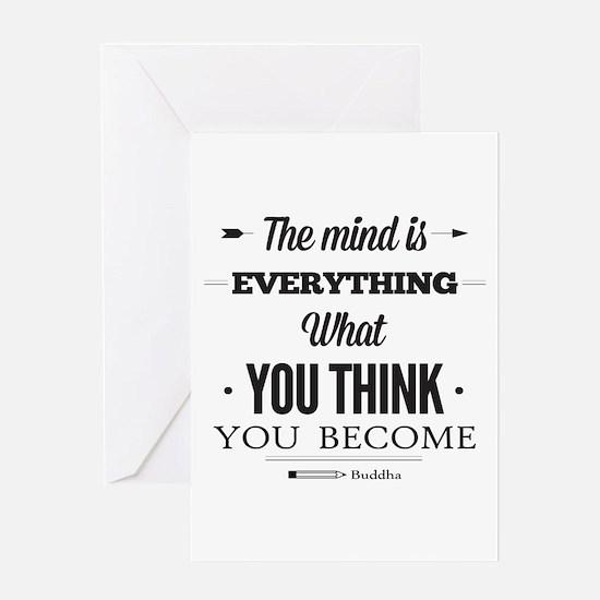 Buddha Saying - The Mind Is Everything ... Greetin