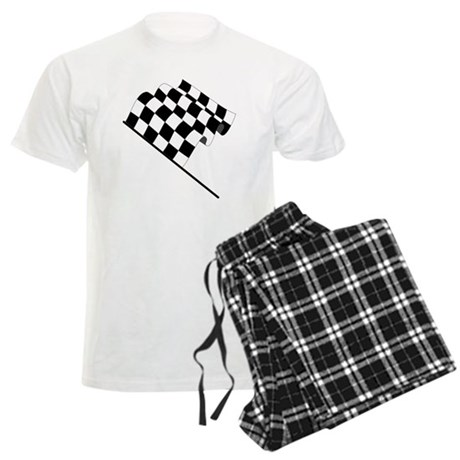 Racing Checkered Flag Pajamas