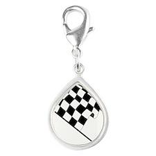 Racing Checkered Flag Charms