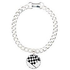 Racing Checkered Flag Bracelet