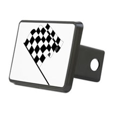 Racing Checkered Flag Hitch Cover