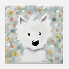 Westie Impressions Tile Coaster