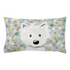 Westie Impressions Pillow Case