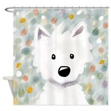 Westie Shower Curtains