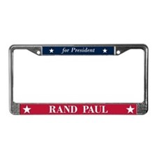Rand Paul for President License Plate Frame