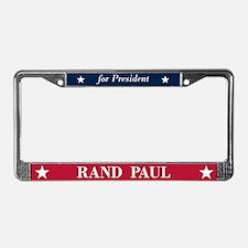 Rand Paul for President License Plate Frame