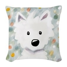 Westie Impressions Woven Throw Pillow