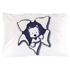 KiniArt Westie BLAST Pillow Case