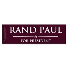 Vote Rand Paul President Bumper Sticker