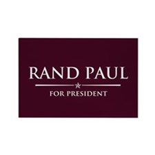Vote Rand Paul President Rectangle Magnet