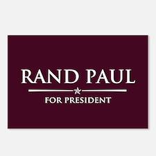 Vote Rand Paul President Postcards (Package of 8)