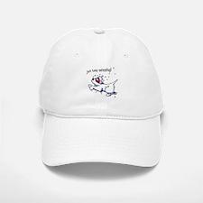 Keep Swimming Westie Baseball Baseball Cap