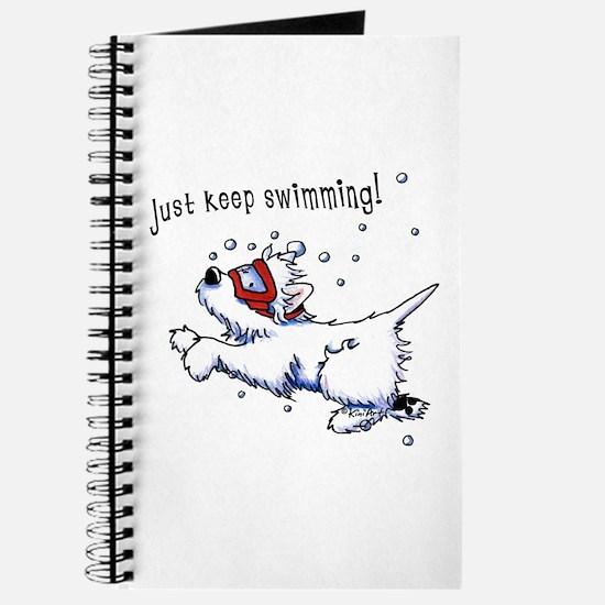 Keep Swimming Westie Journal