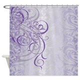 Decorative purple Shower Curtains