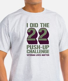22 Push-Up Challenge T-Shirt
