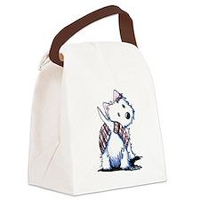KiniArt West Highland Moon Canvas Lunch Bag