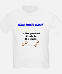 Greatest Vizsla In The World T-Shirt