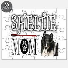 Cute Shetland sheepdog agility Puzzle
