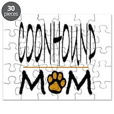 Coonhound Mom Puzzle
