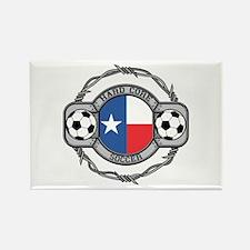 Texas Soccer Rectangle Magnet (100 pack)