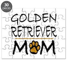 Golden Retriever Mom Puzzle