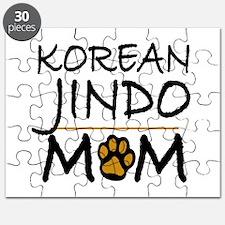 Korean Jindo Mom Puzzle