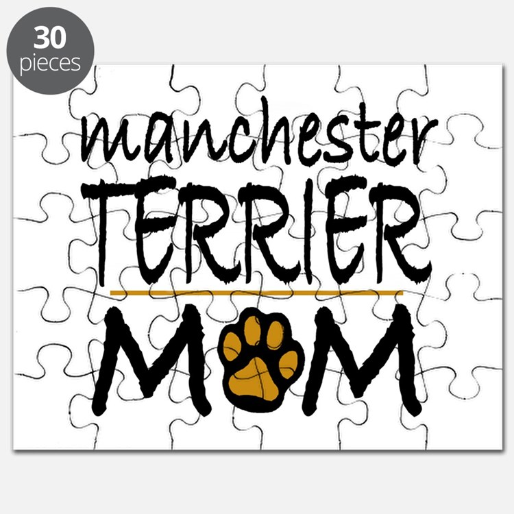 Manchester Terrier mom Puzzle