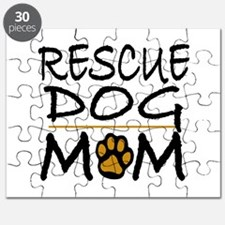 Rescue Dog Mom Puzzle