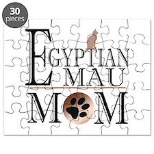 Egyptian Mau Mom Puzzle