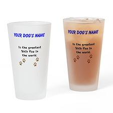Greatest Shih Tzu In The World Drinking Glass