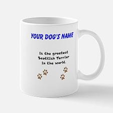 Greatest Scottish Terrier In The World Small Mug