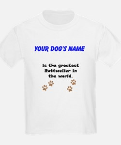 Greatest Rottweiler In The World T-Shirt