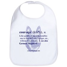 Courage--German Shepherd Bib