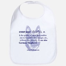 Courage--German Shepherd Bib