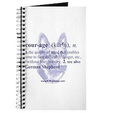 Courage--German Shepherd Journal