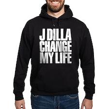 J DILLA CHANGED MY LIFE (WHITE) Hoodie