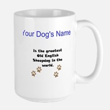 Greatest Old English Sheepdog In The World Mug